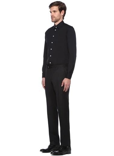 Beymen Collection Uzun Kollu Gömlek Siyah